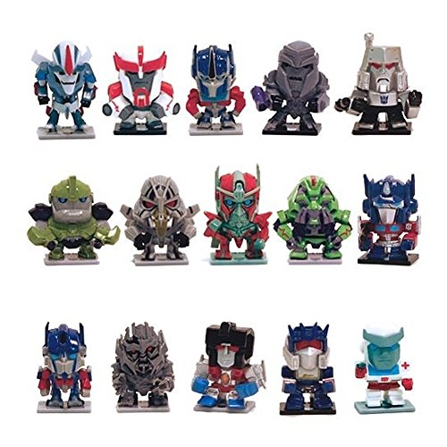 TRANSFORMERS 30th Anniversary Mini-Figure Collection of all 15 Figures