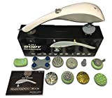 ultrasound machine at home - Styles II Infrared Percussion 11-in-1 Body Massager - Great At-Home Spa Machine for Neck, Back, Shoulder, Waist, Feet – Suitable for All, Comes with 11 Pcs Massage Head Attachments