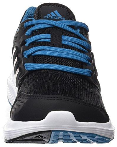 Adidas Ladies Galaxy 4 Scarpe Da Corsa Nere (nero Core / Nero Utility / Giallo Petrolio)