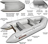 Saturn 9 ft 6 Inches Inflatable Boat