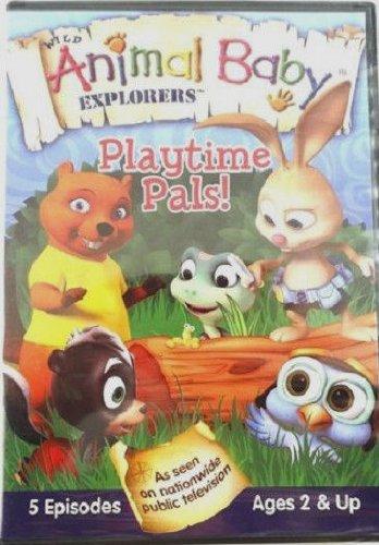 Wild Animal Baby Explorers Playtime Pals