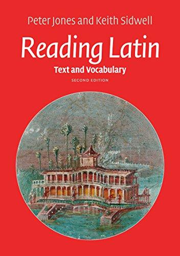 Vocabulary Text - Reading Latin: Text and Vocabulary