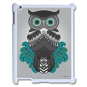 Dacase iPad2,3,4 Cover, Tribal Owl Custom iPad2,3,4 Case