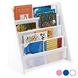 Hartleys Childrens Fun White Wooden Bookshelf