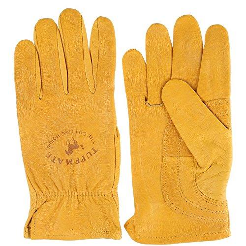 Tuff Mate Gloves Mens Tuff Mate Ladies 1301 Cutting Horse Glove 7 Tan (Glove Mens Tuff)