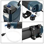 Genenic 5W UV Sterilizer Submersible Oxygen Pump Filter Water Cycle Aquarium Fish Tank
