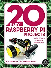 Twenty projects using the Raspberry Pi, a tiny and affordable computer, for beginners looking to make cool things right away. Projects are explained with full-color visuals and simple step-by-step instructions.20 Easy Raspberry Pi Projectsis...