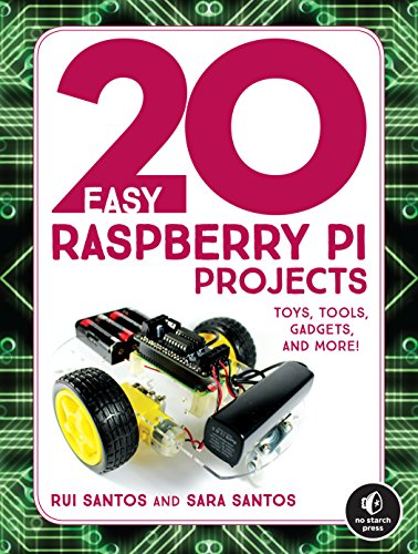 20 Easy Raspberry Pi Projects: Toys, Tools, Gadgets, and More! (paperback)