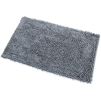DocBear Microfiber Bath Mat Chenille Luxury Bathroom Rugs Carpet Non Slip Bathroom  Mats Soft. Amazon com  DocBear Microfiber Bath Mat Chenille Luxury Bathroom