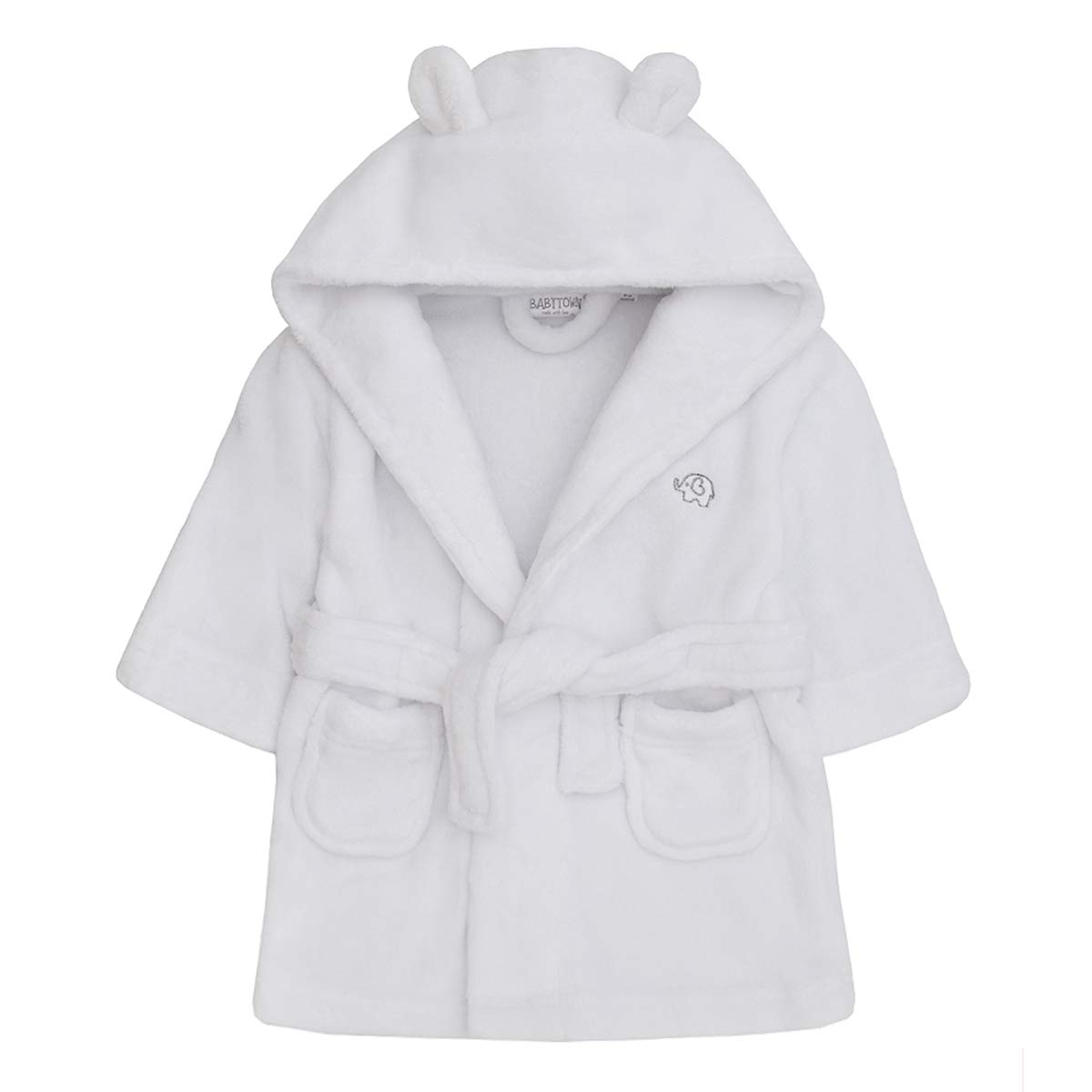 Baby Boys   Girls Unisex Dressing Gown (Ages 6-24 Months) Soft Plush 40015eff5