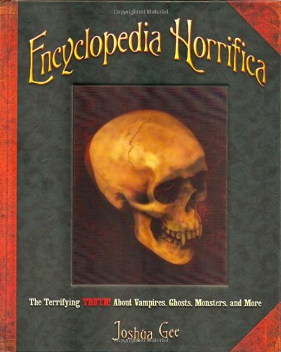 Encyclopedia Horrifica Terrifying Vampires Monsters product image