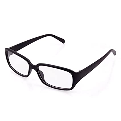 d59aae1c83a Unisex Black Rubberized Plastic Wide Arms Clear Lens Glasses  Amazon.co.uk   DIY   Tools