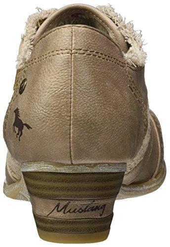 Mustang - Zueco Tar taupe -Altura tacón: 9,5cm-