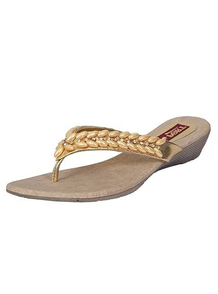7d1191356 Port Ladies Multicolor Stylish Sandals(Size 8 UK/IND): Buy Online at ...