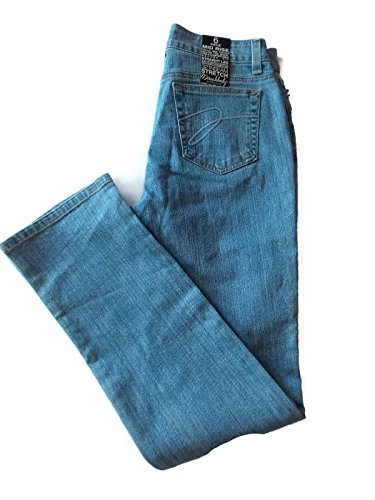 Miraclebody Women's Katie Straight Leg Jeans, Blue, 6