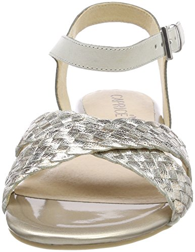 Cinturino Bianco Con Donna Alla 103 Caprice Sandali 28100 white Caviglia Multi EqPwYBt0x