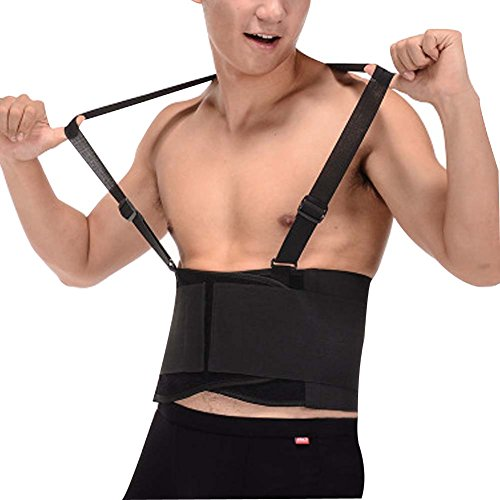 DIBIO Support Back Brace Lumbar Belt Adjustable Straps Pain Relief For Women Men Neoprene Strap For Helps Relieve Lower Back Pain with Sciatica, Scoliosis, Herniated and Slipped Discs by DIBIO