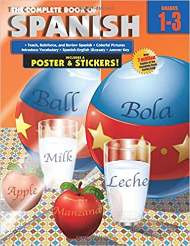 Workbook 4th grade spanish worksheets : The Complete Book of Spanish, Grades 1 - 3: American Education ...