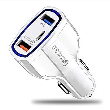BENJIE Cargador De Coche Mini Dual USB Adaptador AutomóVil ...