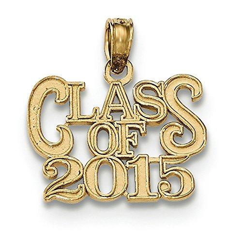 Or 14carats de classe 2015Pendentif