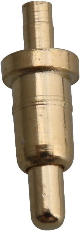 RDEXP 100PCS POGOPIN Dia 0.8mm Length 6mm Spring Pressure Test Probe Pogo Pin