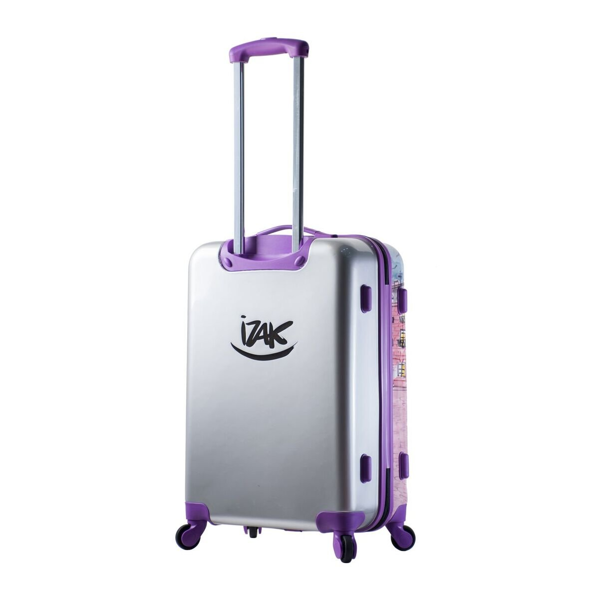 Mia Toro Izak-Paris Fashion Hard-side Spinner Luggage 3PC/Set with 10-Year Warranty--BEST GIFT for Christmas!!!!! by Mia Toro (Image #4)