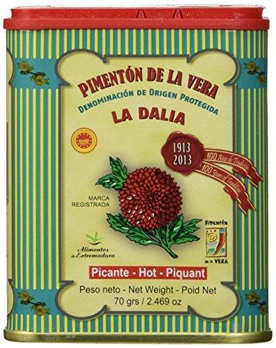 La Dalia Pimenton De La Vera Picante DOP Hot Smoked Paprika ()