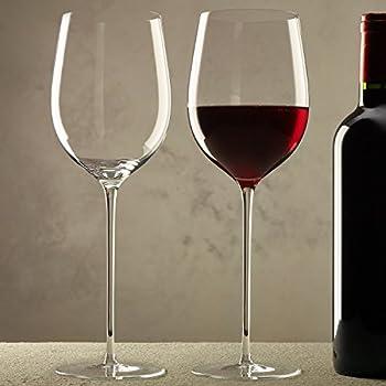 zenology long stem red wine glasses set of 2 wine glasses. Black Bedroom Furniture Sets. Home Design Ideas