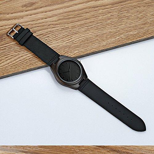 Mens-Black-Wood-Watches-Men-30M-Waterproof-Retro-Simple-Watch-Gents-Leather-Analog-Wrist-Watch-for-Men
