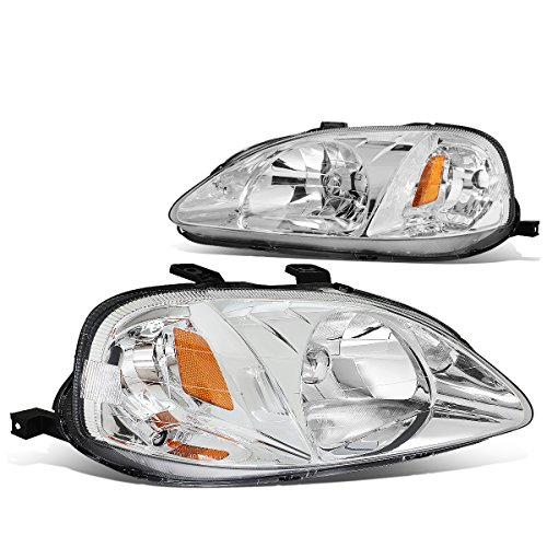 00 civic headlight assembly oem - 1