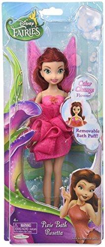 Disney Fairies Pixie Bath Rosetta Doll, 9