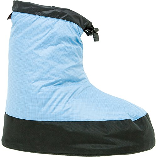 (Western Mountaineering Standard Down Bootie - Men's Sky Blue, XL)