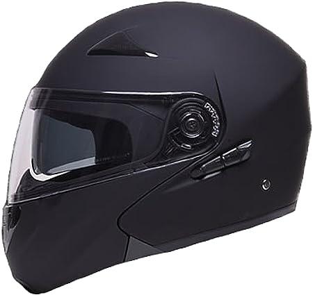 Klapphelm Integralhelm Helm Motorradhelm Rallox 109 Schwarz Matt Mit Sonnenblende S M L Xl Größe S Auto