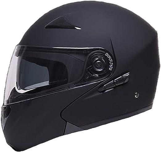 Klapphelm Integralhelm Helm Motorradhelm Rallox 109 Schwarz Matt Mit Sonnenblende S M L Xl Größe L Auto