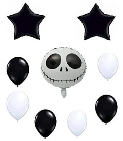 Amazoncom Jack Skellington Skeleton Balloon Set Nightmare