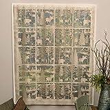 Black Forest Decor Wilderness Retreat Lace Window Panel - 84 inch