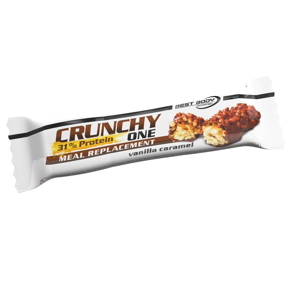 Best Body Nutrition Crunchy One Vanilla Caramel - 60 gr: Amazon.es: Salud y cuidado personal