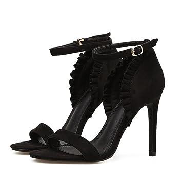 De Gaolixia Gladiador Zapatos Gamuza Sandalias Mujer Verano b7yvYI6gf