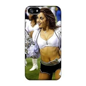 New Oakland Raiders Cheerleaders 2013 Tpu Case Cover, Anti-scratch BmfXV6948CyZPS Phone Case For Iphone 5/5s