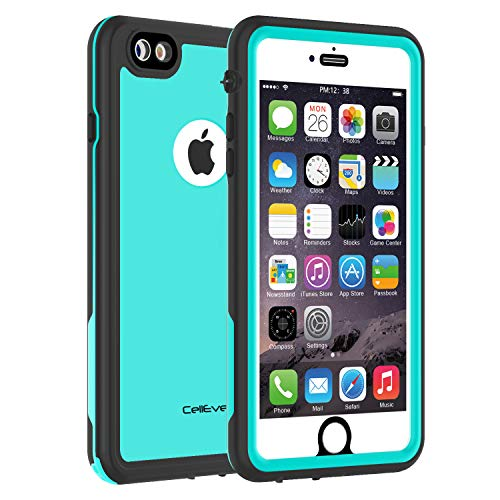 CellEver iPhone 6 / 6s Case Waterproof Shockproof IP68 Certified SandProof Snowproof Full Body Protective Cover Fits iPhone 6 and iPhone 6s (4.7
