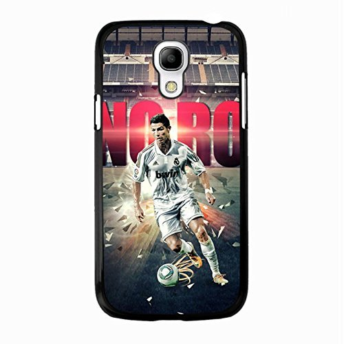 Awesome Handsome Famous Soccer Cristiano Ronaldo Phone hülle Handyhülle Cover for Samsung Galaxy S4 Mini CR7 Real Madrid CF,Telefonkasten SchutzHülle