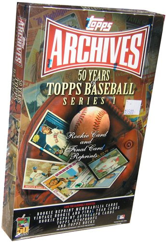 2001 Topps Archives Series 1 Baseball HOBBY Box - 2001 Hobby Topps