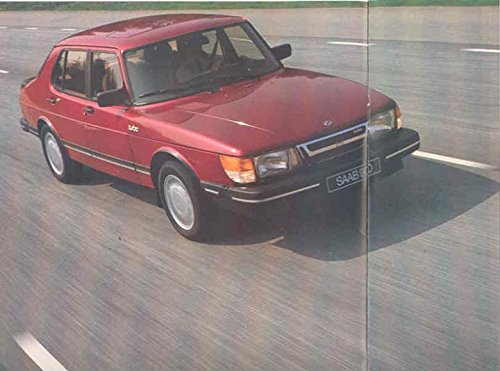 Amazon.com: 1985 Saab 900 Turbo Sales Brochure Dutch: Entertainment Collectibles