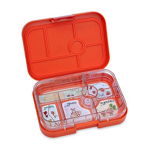 yumbox zucca orange leakproof bento lunch box container for kids home garden kitchen dining. Black Bedroom Furniture Sets. Home Design Ideas