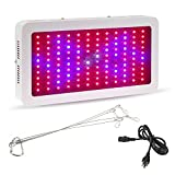 LED grow light, Nexlux 1200W Grow Lights Leds (120*10W) Double Chips Super Bright Full Specturm Hydroponic Plant Grow Lights for Indoor Garden Hydroponic Greenhouse Flowers Vegetables