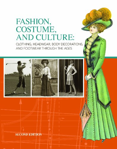 Fashion, Costume, and Culture: Clothing, Headwear, Body Decorations, and Footwear Through the Ages, 6 Volume set