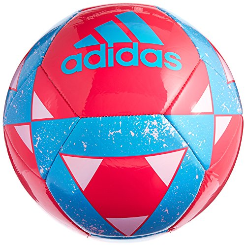 Performance Center (adidas Performance Starlancer V Soccer Ball, Bright Pink, Size 3)