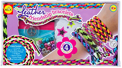 ALEX Toys DIY Wear Faux Leather Friendship Bracelets for $<!--$17.50-->