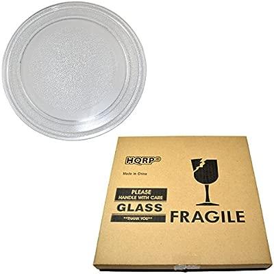 HQRP - 9 - 5/8 pulgadas plato giratorio de cristal bandeja ...