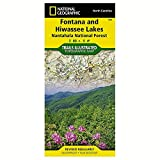 National Geographic Fontana & Hiwassee Lakes #784 by North Carolina - 784